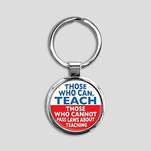 who can teach Circle Round Keychain
