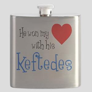 Won My Heart Keftedes Flask