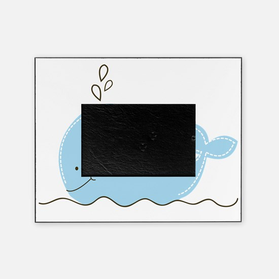Little Blue Whale Picture Frame