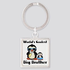 big brother penguin Square Keychain