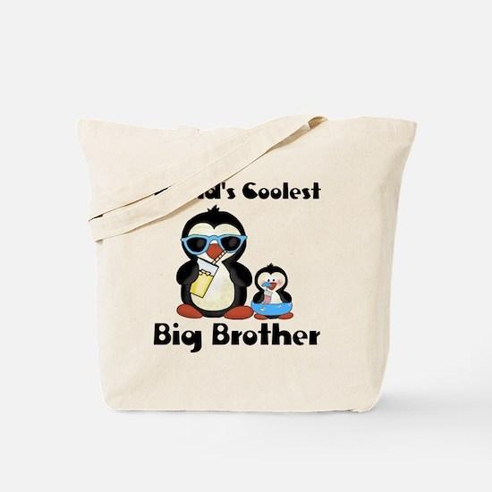 big brother penguin Tote Bag