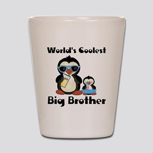 big brother penguin Shot Glass