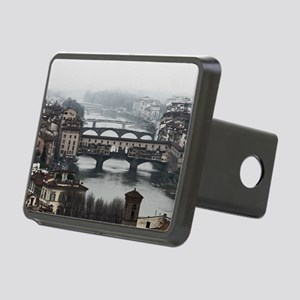 Bridges of Florence Italy Rectangular Hitch Cover