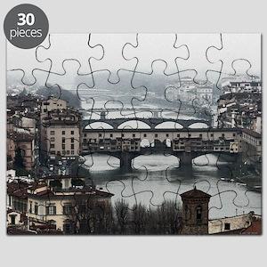 Bridges of Florence Italy Puzzle
