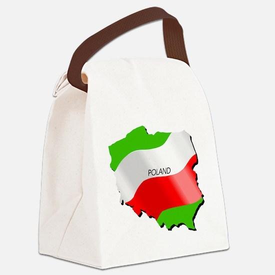 poland Canvas Lunch Bag