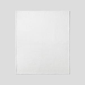 WhiteSwoosh Throw Blanket
