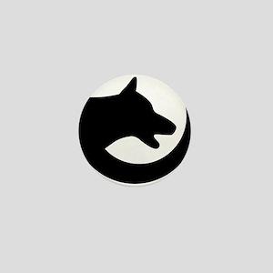 dog-swoosh-PoL-logo Mini Button