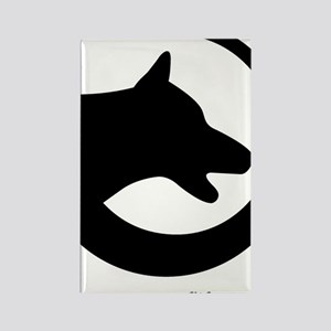 dog-swoosh-PoL-logo Rectangle Magnet