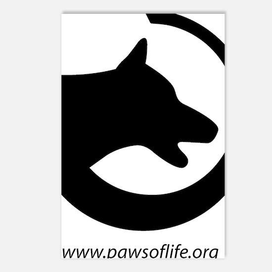 dog-swoosh-PoL-logo Postcards (Package of 8)
