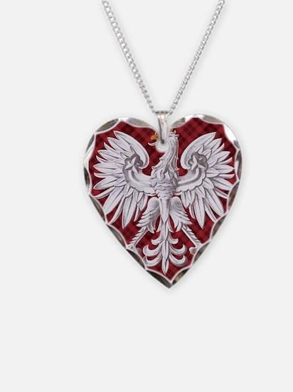 Polish eagle necklaces polish eagle dog tags necklace charms polish eagle plaid crest necklace mozeypictures Images