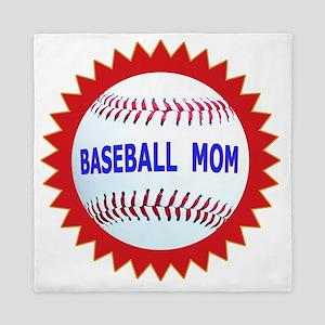 Baseball Mom Emblem Seal T-Shirts  Gif Queen Duvet