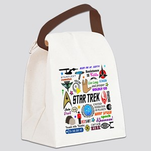 Trekkie Memories Canvas Lunch Bag