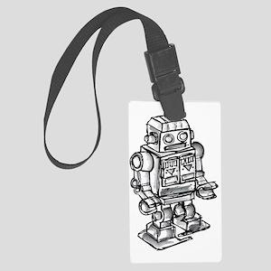robot Large Luggage Tag