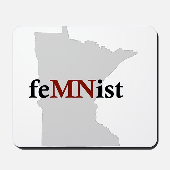 feMNist Mousepad