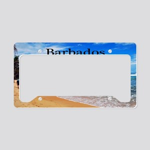 Barbados35x23 License Plate Holder