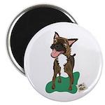Brindle Terrier Magnet