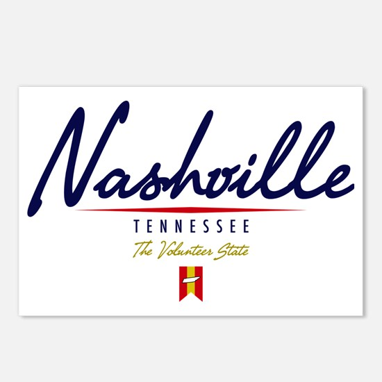 Nashville Script W Postcards (Package of 8)