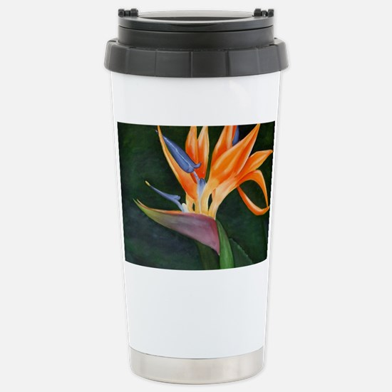 Bird of Paradise (Oil) Stainless Steel Travel Mug