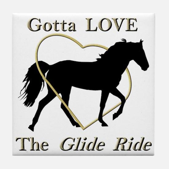 Gotta LOVE the Glide Ride! Tile Coaster