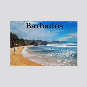 Barbados62x52 Rectangle Magnet
