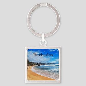 Barbados62x52 Square Keychain