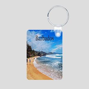 Barbados2.91x4.58 Aluminum Photo Keychain