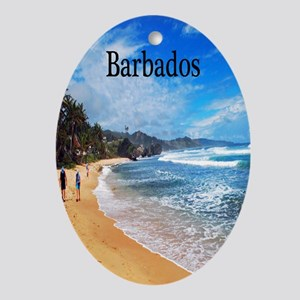 Barbados2.91x4.58 Oval Ornament