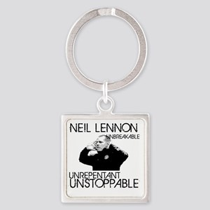 Lennon Unstoppable Square Keychain