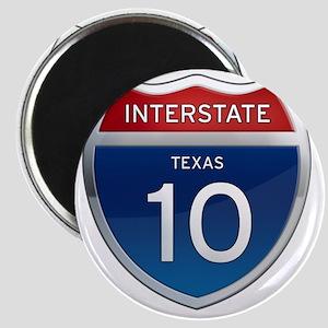 Interstate 10 - Texas Magnet