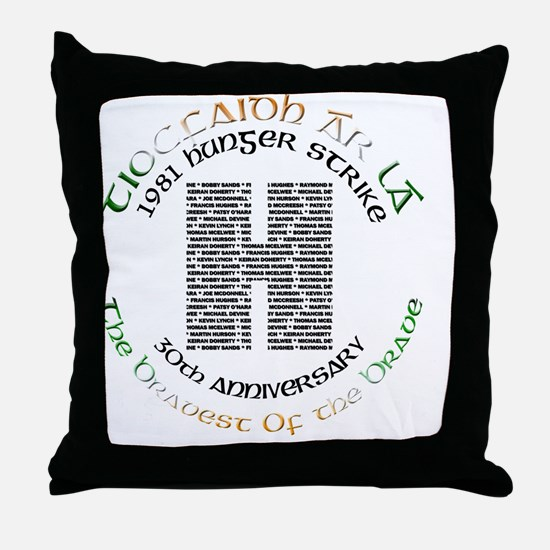 Hunger Strike 30th Anniversary Throw Pillow