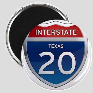 Interstate 20 - Texas Magnet