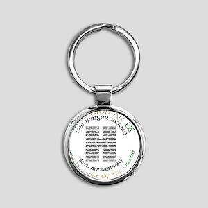 Hunger Strike 30th Anniversary Round Keychain