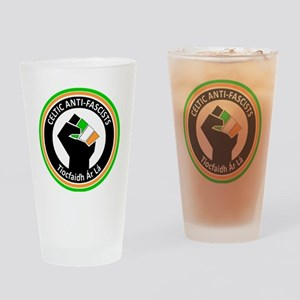 Celtic Antifascists Drinking Glass