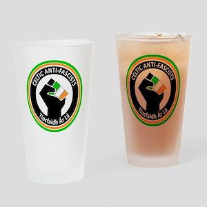 Celtic Antifascists Drinking Glass