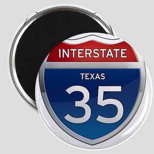 Interstate 35 - Texas Magnet