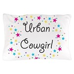 urban cowgirl stars Pillow Case