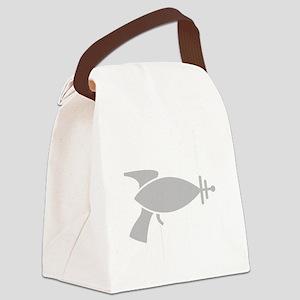 DSDR2_dark Canvas Lunch Bag
