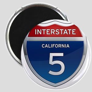 Interstate 5 - California Magnet