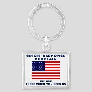 crisis 3 Landscape Keychain