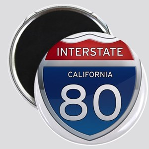 Interstate 80 - California Magnet