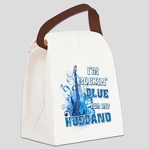 Im Rockin Blue for my Husband Canvas Lunch Bag
