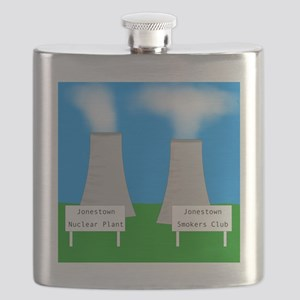 nuclear smoking Flask