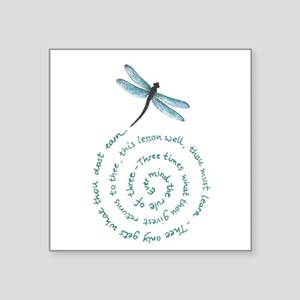 Dragonflyswirl Sticker