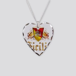 sicilia Necklace Heart Charm