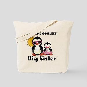 big sister penguin Tote Bag