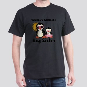 big sister penguin Dark T-Shirt