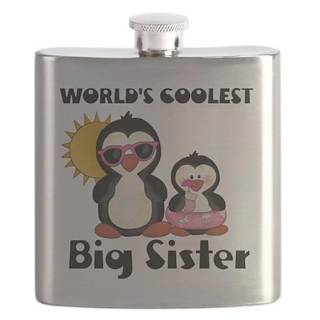 big sister penguin Flask