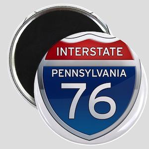 Interstate 76 - Pennsylvania Magnet