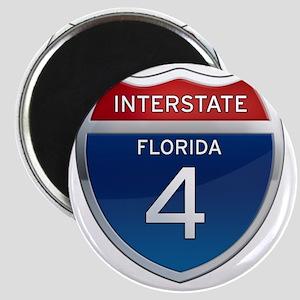 Interstate 4 - Florida Magnet