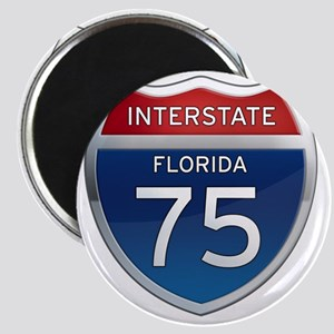 Interstate 75 - Florida Magnet